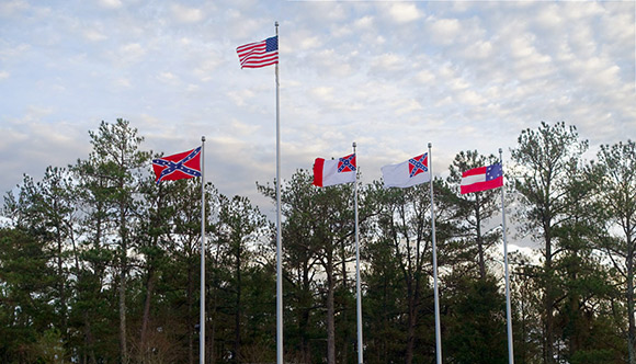 Lower the Confederate Flags at Stone Mountain for Good