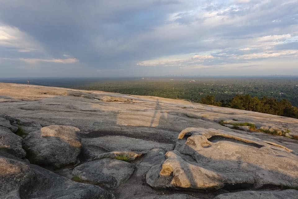 Sunrise at Stone Mountain