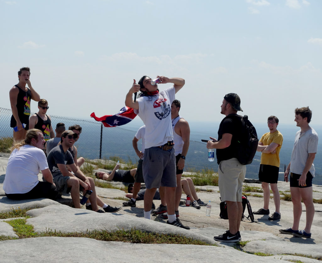 Alt-right Republicans at Stone Mountain
