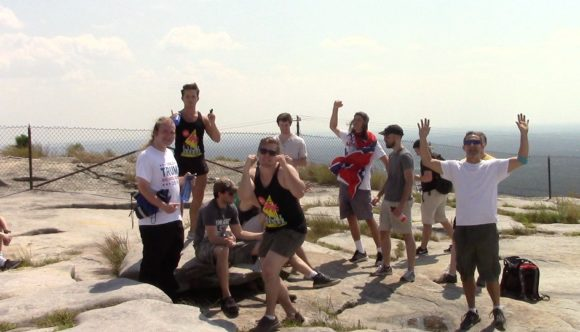 Alt-Right Racists on Stone Mountain
