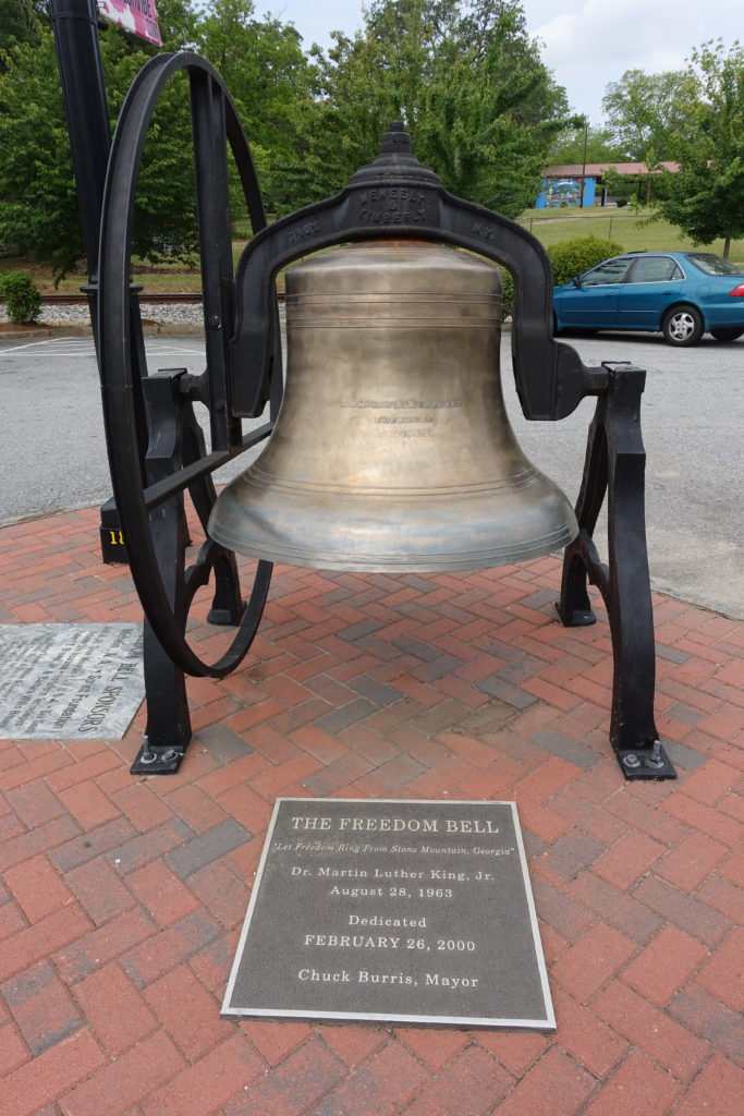 Freedom Bell in Stone Mountain Village