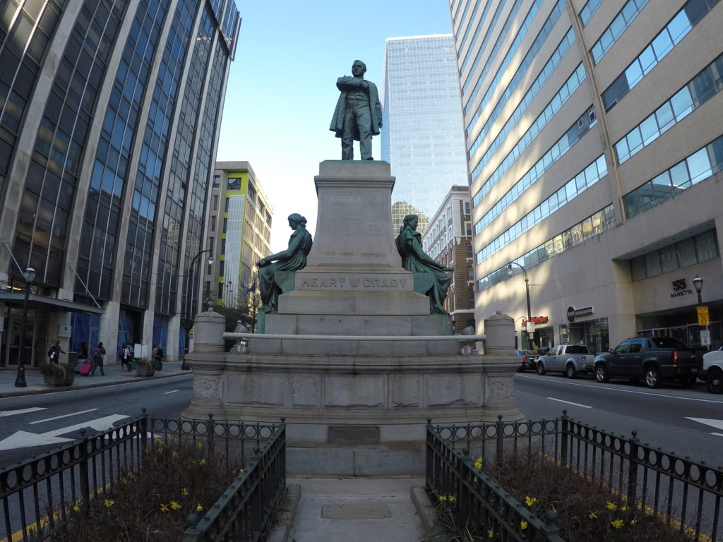 Henry W. Grady monument base | Downtown