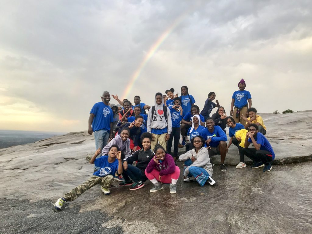 Youth from the local Seventh Day Adventist church camping at the mountain this weekend. 11-04-17