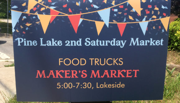 Pine Lake 2nd Saturday Market | May — Sept. 2017