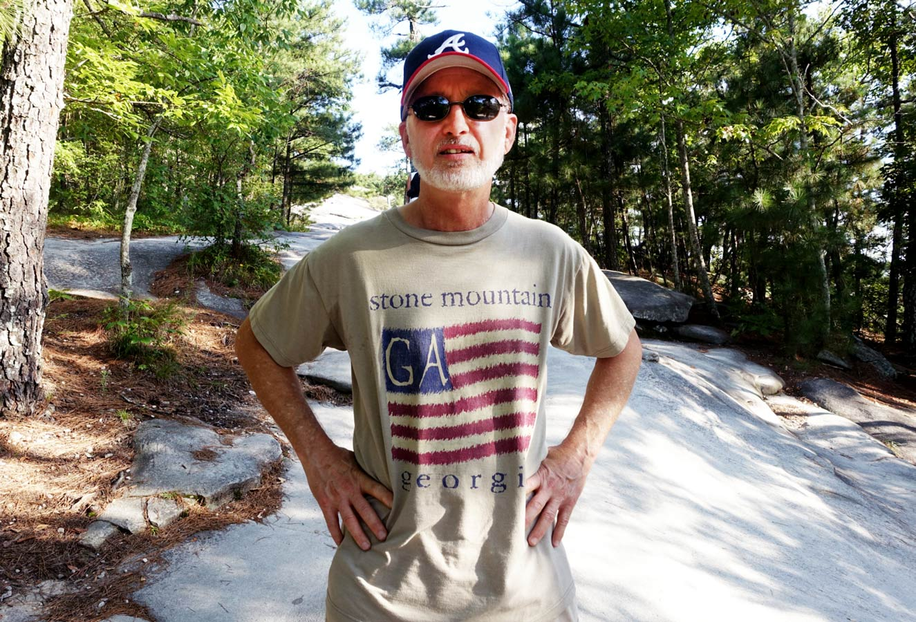 Mountain regular, Gary Peet, has served as Mayor of Stone Mountain and as the city manager and is now retired.