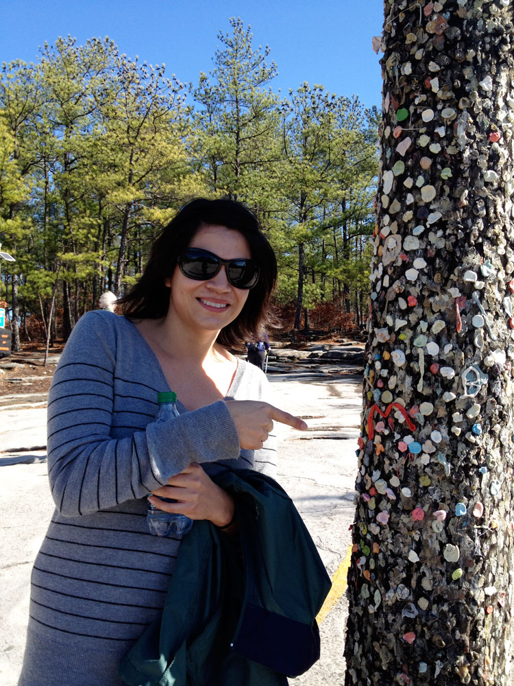Actress Maria Picaso was born and raised in Stone Mountain, GA.