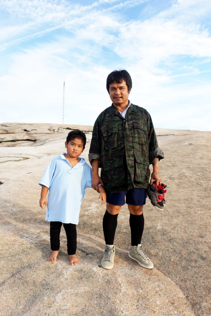 Father and son, Otamin and Ehlersoe, from Karen State, Myanmar