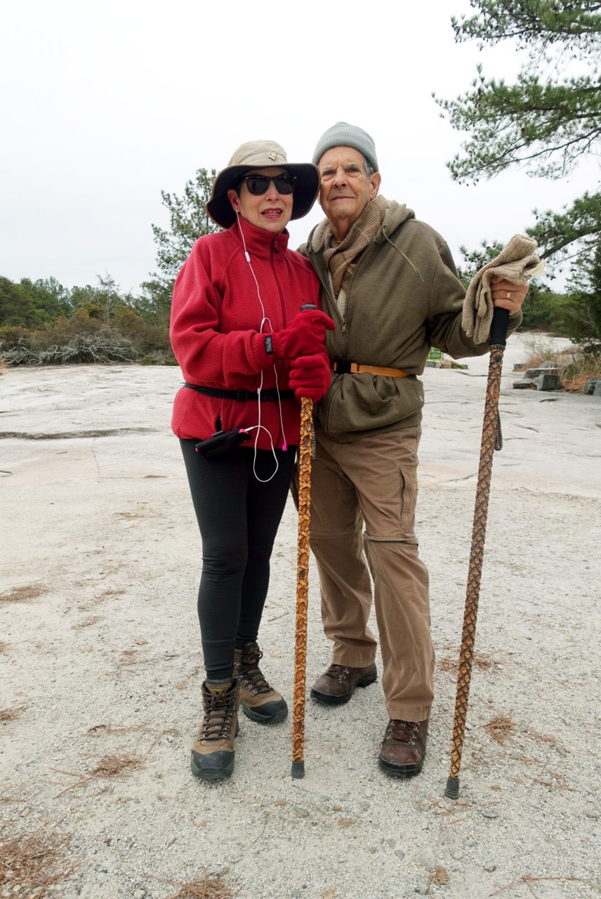 Mountain regulars Sandra and Angelo originally hail from Cuba but have been in the U.S. for well over 30 years now.