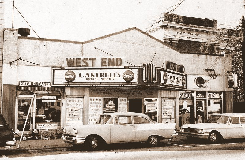 Atlanta store in old theater building c. 1959
